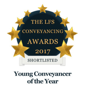 LFS Conveyancing awards - Young Conveyancer of the Year 2017